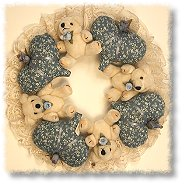 Teddy Bear/Heart Wreath